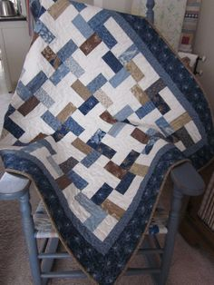 Blueberry Pinwheels Quilt