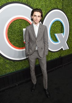 Timothee Chalamet in Gucci