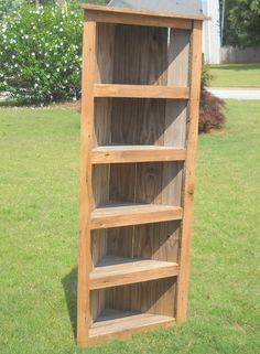 Image result for corner bookcase