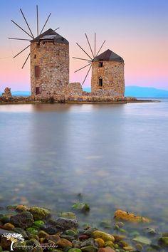 Mills in Greece