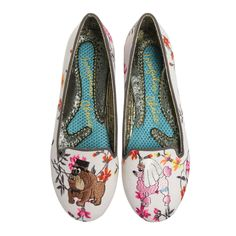 IRREGULAR CHOICE-JUST PAWED-PINK-TOP-THUMB-