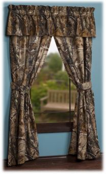 Bass Pro Shops® Realtree AP™ Camouflage Rod Pocket Drapes or Valance