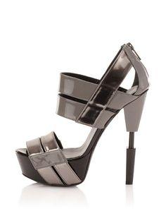Ruthie Davis Women's Robotic Platform Sandal