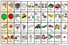 Activity Choices - Autism