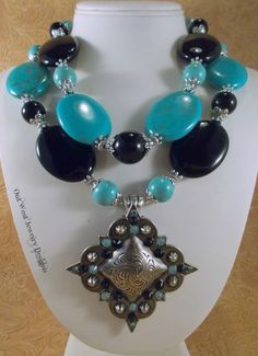 RESERVED LISTING Western Rodeo Cowgirl Necklace by Outwestjewelry
