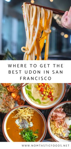 Looking for the best udon in San Francisco?  Nomtastic Foods lists the top 3 places to get your fix in the Bay Area.  Click for the 411 on the best eats in Northern California on our latest!  #udon #sf #sanfrancisco #bayareafood #bayarea #sffood #sfrestaurants #sfrestaurant