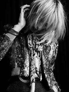 Saint Laurent Fall/Winter 2016-2017 Model: Grace Hartzel, Lili Sumner Photographer: Hedi Slimane