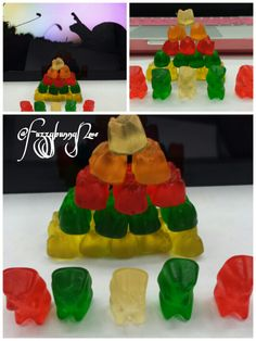 We finish our project early today so we decided to have a Gummy Bears competition. Of course Fuzzy team won! Yes!
