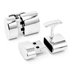 These Ravi Ratan cufflinks, fitting for a 007 movie, discretely provide wearers with both a Wi-Fi hotspot and a 2GB mini USB.