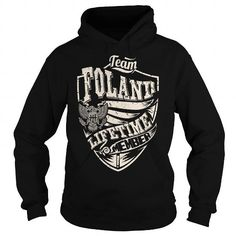 Awesome Tee Last Name, Surname Tshirts - Team FOLAND Lifetime Member Eagle T shirts