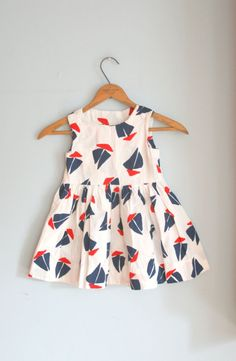 SAILBOAT Girls Dress