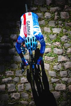 """One last Tour de France for @millarmind, one last time over the cobbles of Roubaix"". Jered Gruber."
