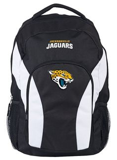 a914529be9853 Jacksonville Jaguars Backpack Draftday Style Black