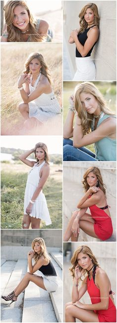 Senior portraits posing ideas | girl with hands near hair | Cindy Swanson Photography