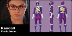 Kendall Dino Charge Purple Ranger