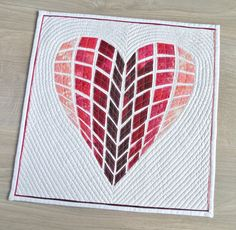 Heart Quilt Pattern by Geta Grama | Geta's Quilting Studio