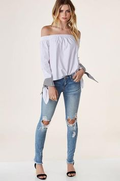 Take It Off Shoulder Top