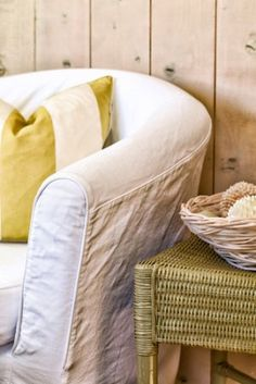 Make old furniture look new again with handmade slipcovers