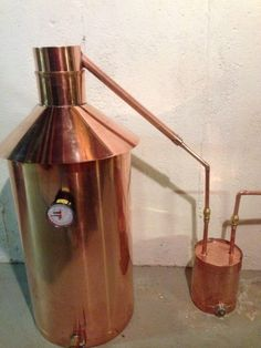Discount Stillz 20 Gallon - Heavy Copper Moonshine Still Moonshine Still Plans, Copper Moonshine Still, How To Make Moonshine, Homemade Alcohol, Homemade Wine, Moonshine Kit, Moonshine Stills For Sale, Alcohol Still