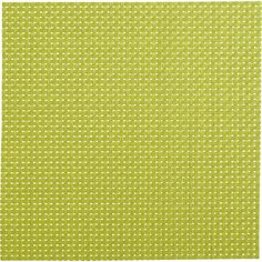CB2 Basketweave Green Placemat ($2.95) ❤ liked on Polyvore featuring home, kitchen & dining, table linens, green table mats, basketweave placemats, woven placemats, green placemats and square placemats