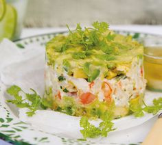 Avocado Salsa Timbales - Annabel Langbein – Recipes