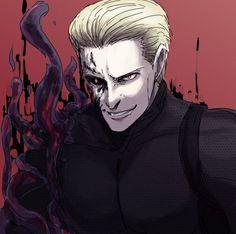 Albert Wesker, Resident Evil Game, Evil Art, The Evil Within, Best Horrors, My Favorite Image, Horror Art, Character Concept, My Images