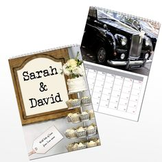 Personalised Mr and Mrs Calendar 2013 | Personalised Gifts Boutique | £14.99