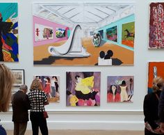 Spotted at the Royal Academy Summer Exhibition! A painting by Stephen Farthing RA, Room 3, A Museum of Vernal Pleasure,2017, Acrylic. 208 x 348 cm. Stephen is not only the author of the first module of the online Art Appreciation Course but also a tutor. Tutors are allocated to students upon enrolment into the course. Students have direct contact with their personal tutor who guides them closely through each step of the course.
