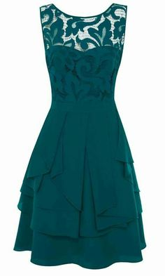Teal dress-- @Katie Zancanella