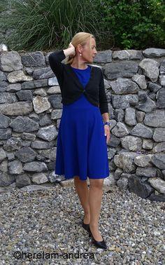 Dress royal blue
