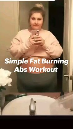 Body Workout At Home, Gym Workout Videos, Gym Workout For Beginners, Fitness Workout For Women, At Home Workout Plan, Workout Routines, Easy Workouts, Slim Waist Workout, Flat Belly Workout