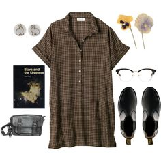 Untitled #104 by greerveronica on Polyvore featuring Toast, Dr. Martens and Brandy Melville