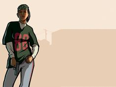 #GTA San Andreas wallpaper - Denise Robinson (LOL my husband and I loved playing 2 player mode with Carl and Denise)