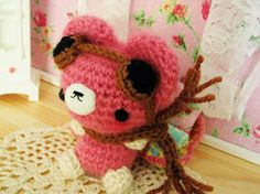 DeviantArt: More Like Kawaii bear crochet amigurumi coin purse ...