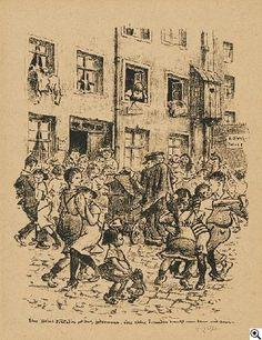 Heinrich Zille Eine kleine Freundin. 1924. Lithographie auf grobfaserigem Bütten. 34 x 27cm (45,5 x 36,5cm). Signiert. Verlag Fritz Gurlitt, Berlin