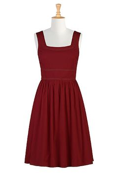 Red retro frock- my dress for the rehearsal dinner?