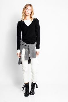 Nosfa Patch Sweater, black, Zadig & Voltaire