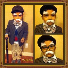 100 year old boy. For 100 days of school. 100 Days Of School, School Boy, Old Man Costume, 100 Years Celebration, Kids Costumes Boys, Look Older, Diy Halloween Costumes, Old Boys, 100th Day