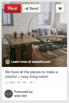 How to Use Promoted Pins on Pinterest—Examples; Details>