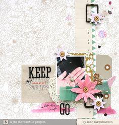 keep the good stuff - Leah Farquharson for @Jenni Juntunen Juntunen Bowlin Studio January kits #scrapbooking