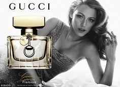 Wow! Blake Lively has just been unveiled as the face of Gucci's latest fragrance and she oozes old school Hollywood glamour in the campaign http://dailym.ai/1nXC3BI