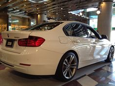 BMW 3 Series 2012, liking the new re-design.
