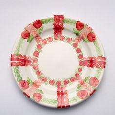vesta Plates, Tableware, Design, Red, Green, Tablewares, Licence Plates, Dishes, Dinnerware