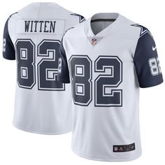 5c2801b09 Jason Witten Dallas Cowboys Nike Color RUSH Limited NFL Jersey -White Navy Dallas  Cowboys
