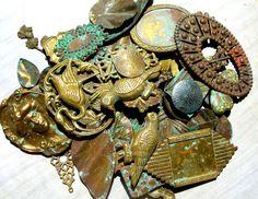 Brass jewelry making supplies