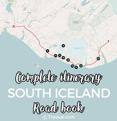Complete roadbook & itinerary + GPS coordinates in South Iceland. #FreeTravelGuides