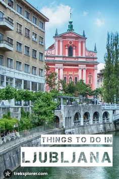 Discover the BEST things to do in Ljubljana! Plan where to go & what to see with this guide to the top attractions & places to visit in Ljubljana in Backpacking Europe, Europe Travel Tips, Travel Destinations, Travel Tourism, Travel Guide, European Destination, European Travel, European Tour, Les Balkans