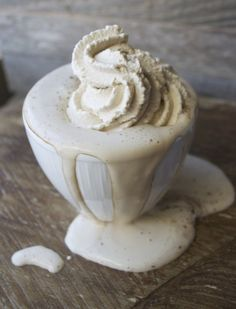 Dark Chocolate Cocoa with Espresso Whipped Cream YUMMMMY!!!!!