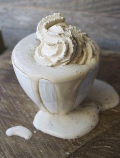 Dark Chocolate Cocoa with Espresso Whipped Cream YUMMMMY!!!!!