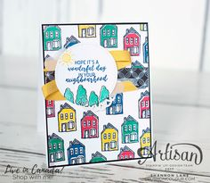 Hello friends! It's another late-night post from me - if you follow my Facebook page , you'll know my big box of brand-new Stampin' Up! go...